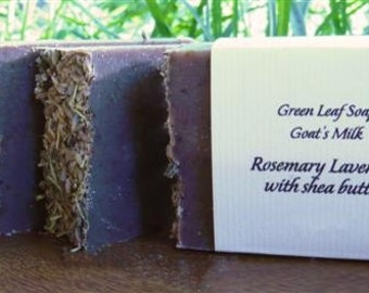 Rosemary Lavender (with Shea Butter and Black Walnut Hull)