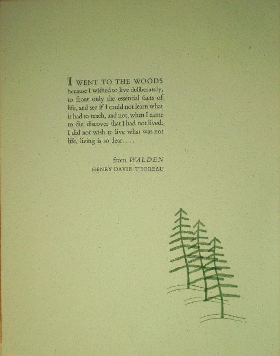 Critical essays on thoreau walden