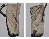 vintage duffle bag vintage duffel bag canvas tote us navy USN