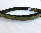Military Dog Collar - 3/4 inch adjustable quick snap collar
