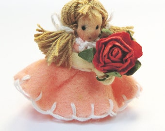 "Art Doll  "" Daisy Doll"" in miniature only 3.8 cm."