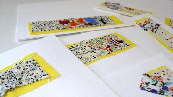 Blank Note Card Set of 8 - Assorted 3
