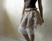 Reserved for Gwen, Velvet Tutu skirt, puffy skirt, short skirt, mini skirt, linen skirt, A-line skirt, petite skirt, bridesmaids skirt