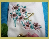 This gift is a shoe-in, weddings, holidays, birthdays and anniversary gifts. Lace and Florals. A Unique Hankerchief with personality