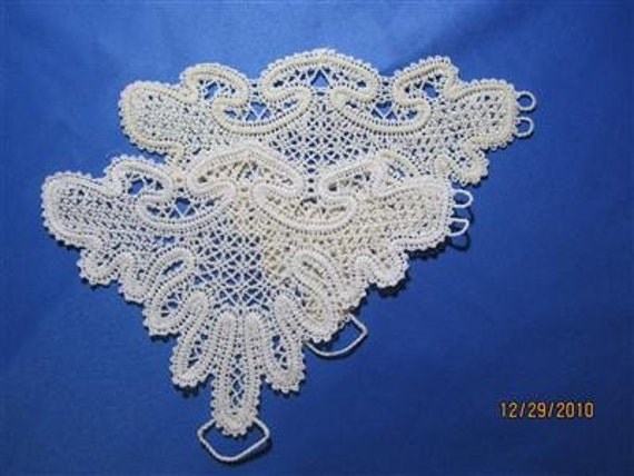 Fingerless Bridal Gloves, Prom or Communion, lace, elegant, unique and embroidered  for Wedding or Special Occasion.  Chose your own color.