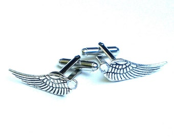 SALE, Angel Wing Cuff Links