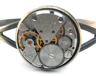 SALE, Unisex Cuff, Steampunk Bracelet, Steampunk Cuff, Cosplay Cuff, Mens Bracelet