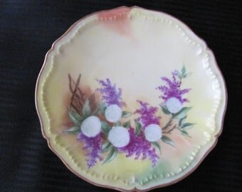 Antique Hand Painted HAVILAND Decorative Plate Numbered and Signed