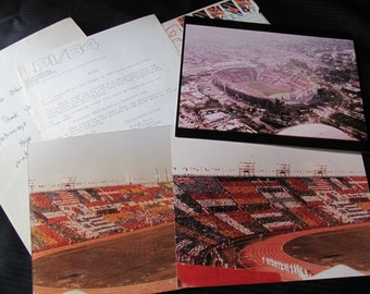 SALE SALE Lot of 3 - 8 x 10 Photographs from the 1984 Olympics - Los Angeles Coliseum