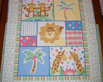 An Adorable Baby Zanzibar Nursery Fabric Panel Free US Shipping