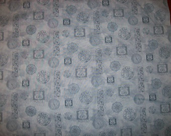 A Wonderful Route 66 Travels Cotton Fabric BTY Free US Shipping