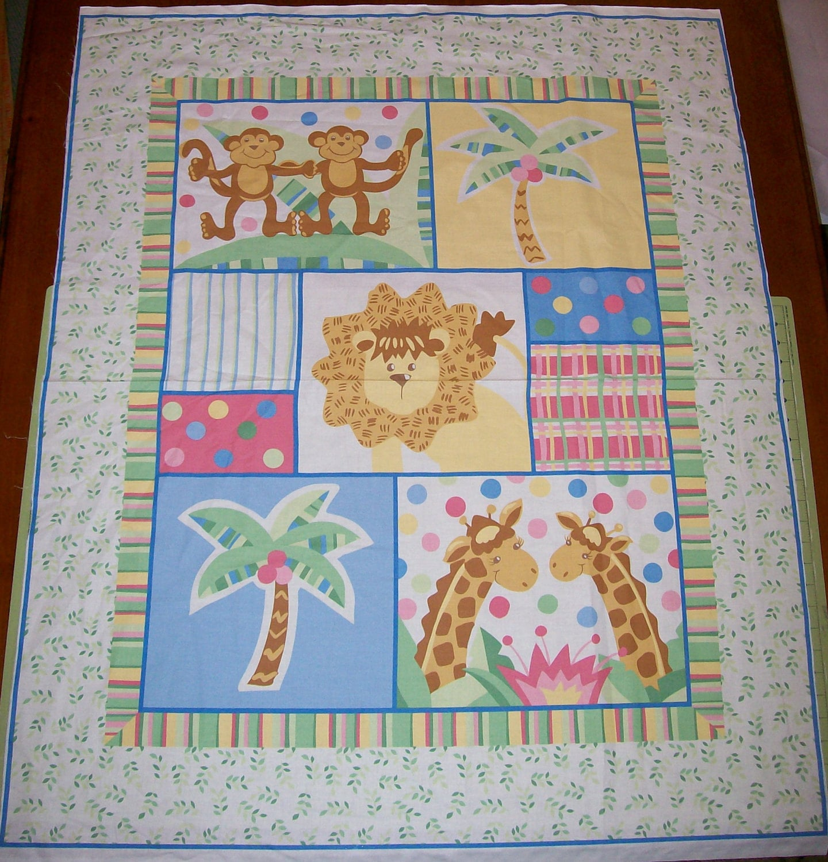 An adorable baby zanzibar nursery fabric panel free us for Baby nursery fabric