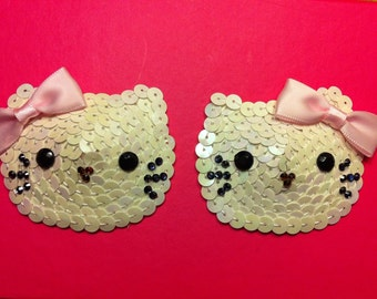 Hello Kitten Burlesque Pasties