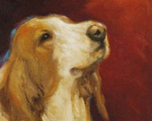 16in x 20in Kanayo Ede Dog Oil painting Wally.
