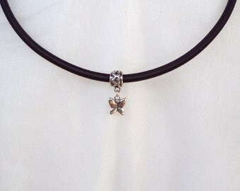 Silver Butterfly Neck Adornment