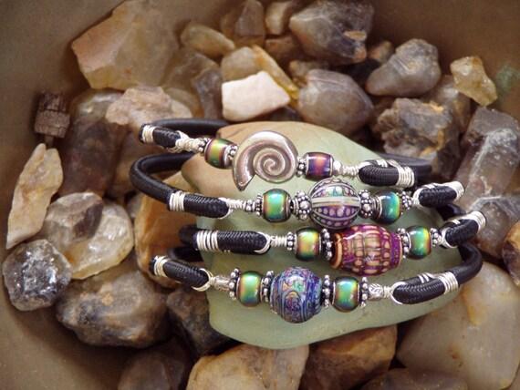 Silver Nautilus Wrist Adornment