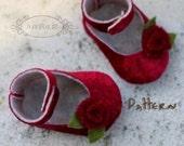 Joyfolie Boy and Girl Baby Shoe / Bootie Pattern PDF