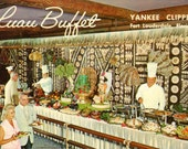 Yankee Clipper Hotel, Vintage Postcard (Chrome)