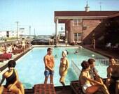 Carriage Stop Motel, Vintage Postcard (Chrome)