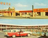 Bagdad Inn, Vintage Postcard (Chrome)