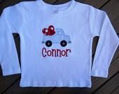 Heart Truck Onesie or Shirt