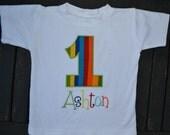 Rainbow Birthday Shirt or Onesie