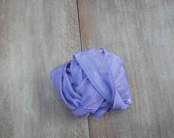 Fold over elastic 5 yds. lavender  color