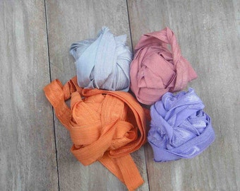 This listing is for 8  yards 2 of each color
