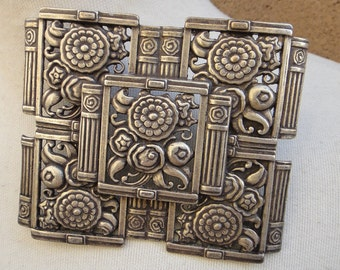Buckles silver color buckle big size  1  pieces