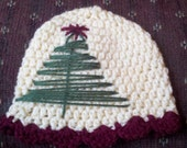 christmas tree hat any size preemie to adult