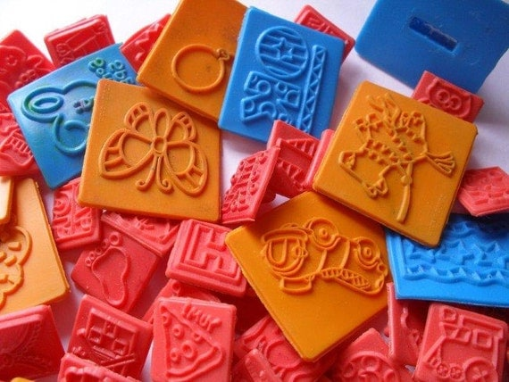 Rubber Stamps Kids Stamps Assorted Lot