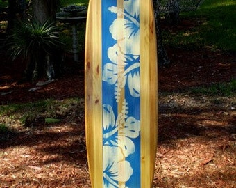 Surfboard wall art | Etsy