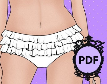 The Frilly Knickers Pattern B0902