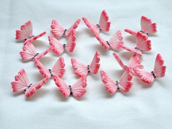 30 Simple Butterflies Gum Paste Edible