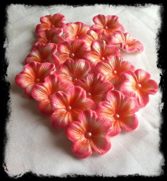 Cake Decorations Sugar Roses : Items similar to GumPaste Cake Decorations Sugar Flowers ...