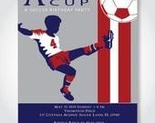 Soccer Birthday Party Invitation - DIY Printable