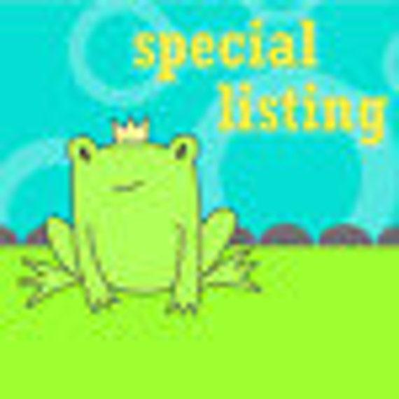 Special Listing for Kristina
