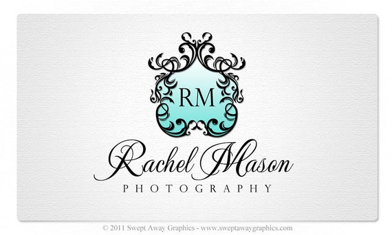 SALE - Premade Logo and Watermark - Editable PSD File Included