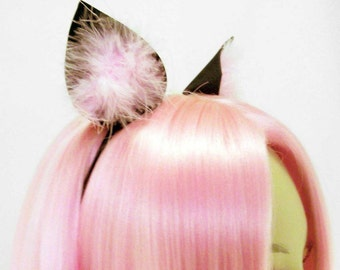 Cat Ears with Fur | ANY COLOR