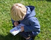 Cosy Kids Fleece PDF Pattern, Sizes 1 to 8 Years