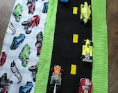 Hot Wheels Car Caddy Roll up Tote with Road