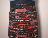 Clearance Bowling Party Apron Half apron Unisex  Ready to ship Last One