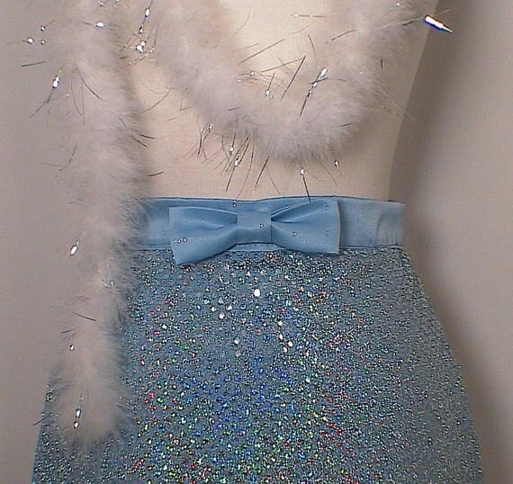 Sequin Apron Clearance Womens accessory costume boudior OOAK