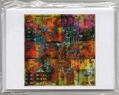 4 Favorite Things Digital Collage Blank Greeting Cards