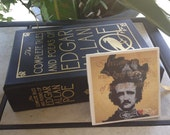 Once Upon a Midnight Dreary--Edgar Allan Poe Coasters