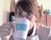 Custom Love State Mug Cup Stocking Stuffer - Coffee, Tea, Latte