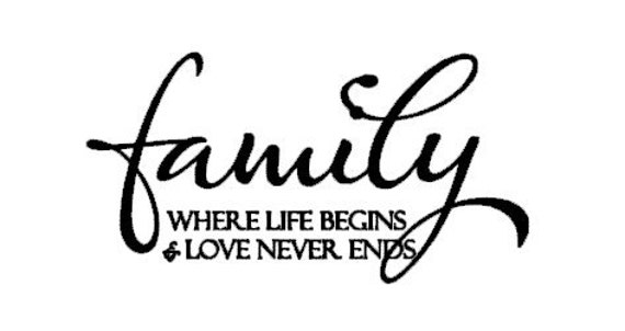 Items similar to Family Where Life Begins And Love Never ...