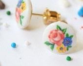 Vintage Posy Earrings