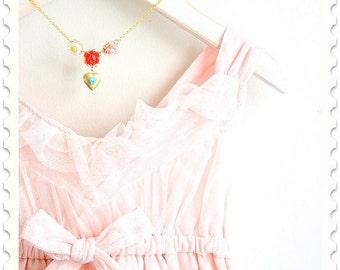 Girls Heart Locket Necklace