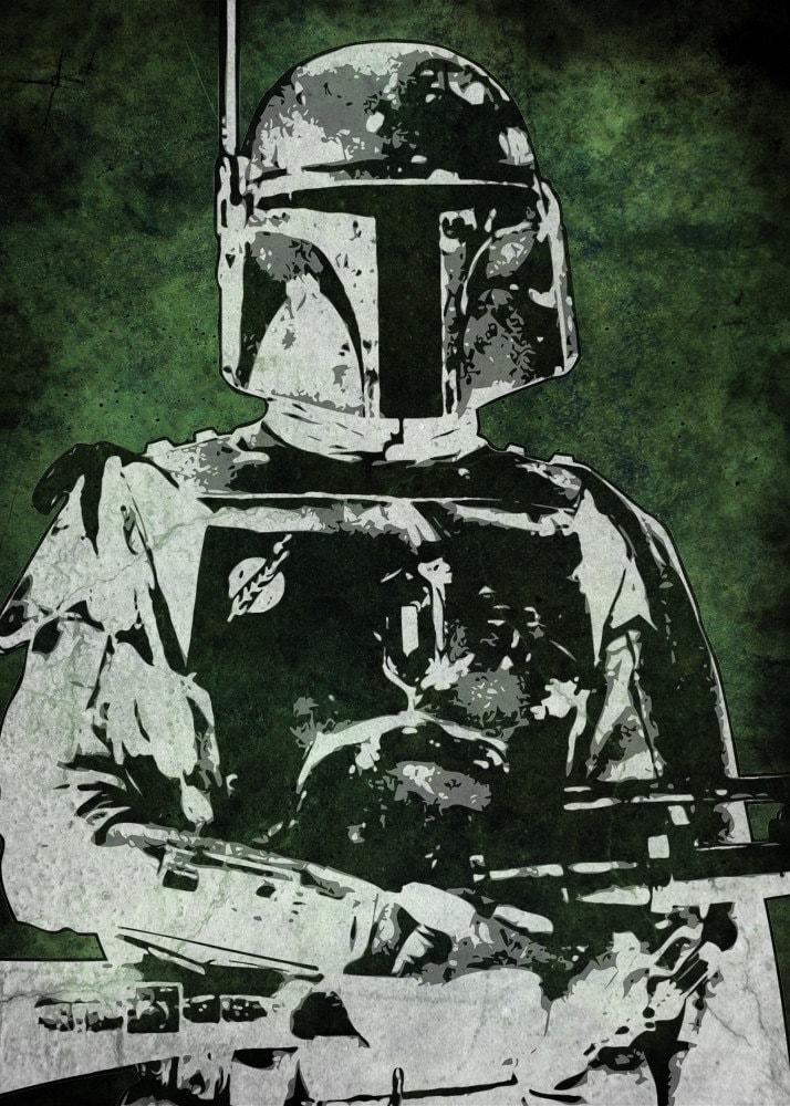 Star Wars White Boba Fett Boba Fett From Star Wars Pop